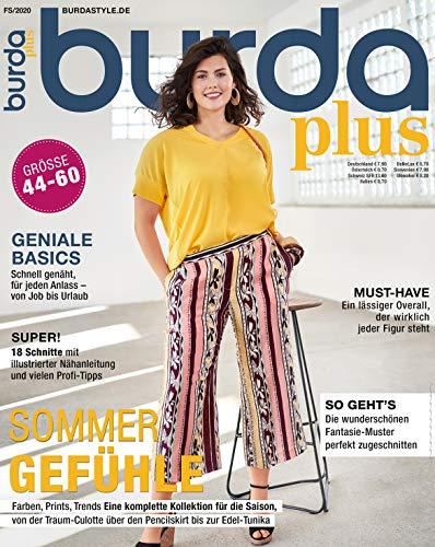 burda plus Nähmagazin: Schnittmuster für Damen, 2020, ideal geeignet für Anfänger und Näherfahrene