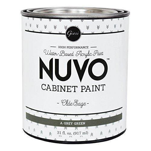 Nuvo Cabinet Paint, Olde Sage (Quart)