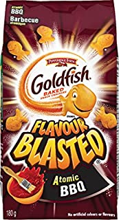 Pepperidge Farm Goldfish Flavour Blasted Atomic BBQ Crackers, 180g/6.3oz, (Imported from Canada)