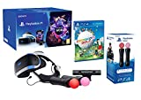 PlayStation VR2 Everybody's Golf + VR Worlds + 2 Mandos Twin Move Controllers