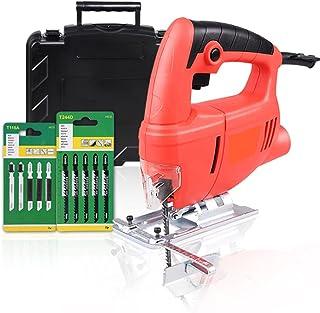 XDXDO 710 W elektrisk sticksåg kompakt såg skärning med 4 variabla hastigheter, avfasning: ±45°, kabelansluten sticksåg fö...