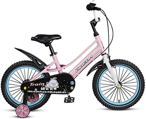 MJY Bike Kids Bikes, Trainingsräder, geschlossener Kettenschutz-Schnellverstellsitz und 14-Zoll-Räder 7-4