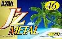 AXIA メタルテープ J'z METAL 46分 ノイズが少ない迫力のサウンド JZMF 46