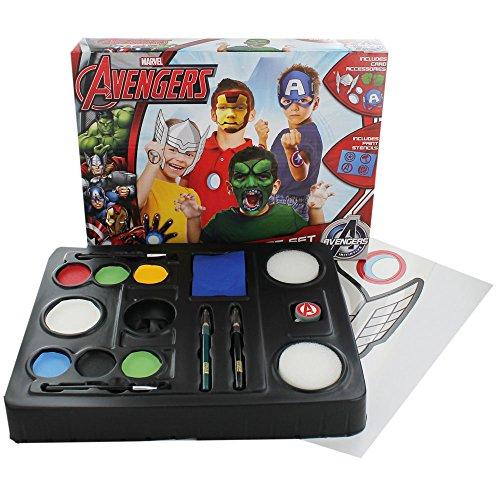 Marvel Avengers – Kit de Maquillage pour Enfants + Accessoires