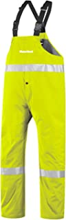 """product image for WaterShed 950AE013Z-LM-3XL StormShield Snap Fly Waterproof GORE-TEX Bib Overall with 12"""" Leg Zippers, 3XL, Lime Green"""