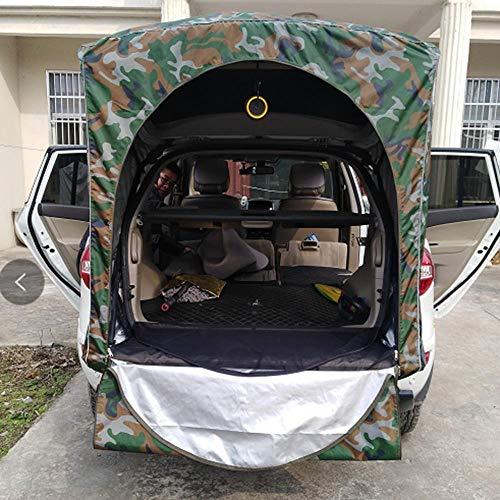 XTBB Dachzelt Auto Zelt hinten Dach Außen Dachausrüstung Camping Vordach Schwanz Picknick-Vordach für Peugeot 3008 nur für SUV Camouflage 1