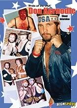 Don Kernodle Shoot Interview Wrestling DVD-R