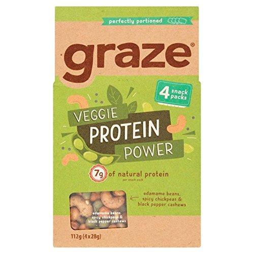 Graze Veggie Protein Power Multipack 28g