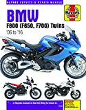 BMW F800 (F650, F700) Twins (06 - 16) Update: '06 to '16 (Haynes Service and Repair Manual)