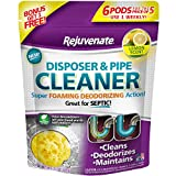 Instantly cleans, maintains and deodorizes kitchen garbage disposals Powerful foaming action scrubs away built-up food, grease and odors Enzymes help break down food waste reducing frequency of septic tank pumping Use weekly to maintain your kitchen ...