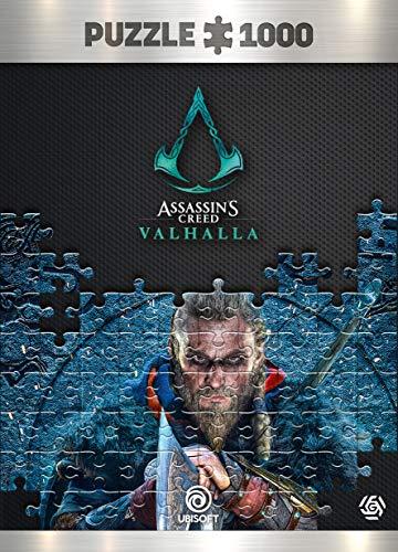 Good Loot Assassin's Creed Valhalla Eivor - Puzzlespiel mit 1.000 Teilen und den Maßen 68 cm x 48 cm | inklusive Poster und Tasche | Spiel-Artwork für Erwachsene und Teenager
