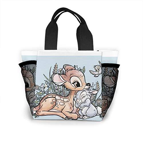Lunch-Tasche für Damen, Handtasche, Lunch-Tasche für Arbeit, Picknick oder Reisen – Bambi & Thumper