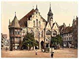 Photo Townhall Hildesheim Saxony A4 10x8 Poster Print