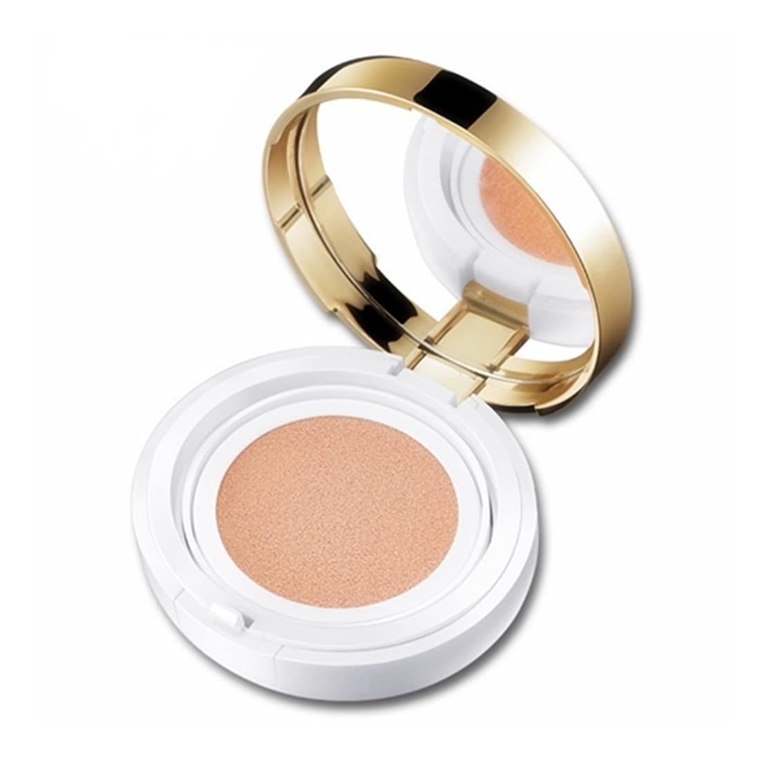 ダブル自分自身温帯Flawless Makeup Air Cushion BB Cream Moisturizing Natural Tone Bare Makeup Concealer Primer Color Foundation Cosmetics. (Ivory white#B01)