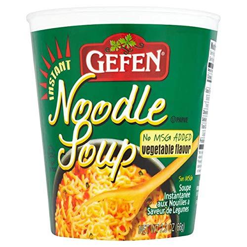 Gefen Instant Noodle Soup, Vegetable (12 Pack)