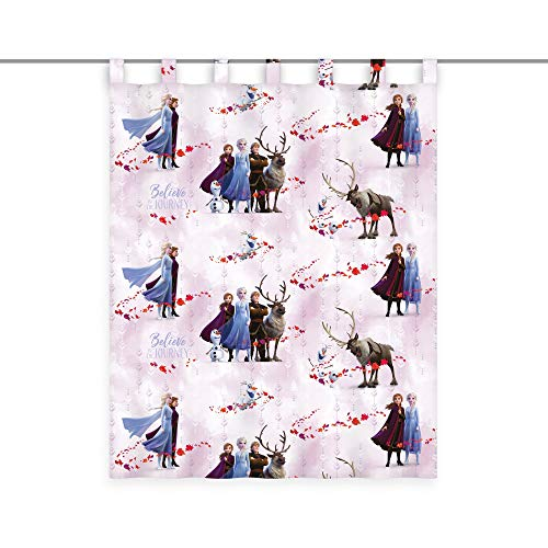 Klaus Herding GmbH Disney Frozen Gardine Vorhang Fertiggardine 140 x 175 cm Blickdicht