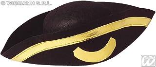 Widmann 2559T sinti— emplumado sombrero de tres picos diciembre oro
