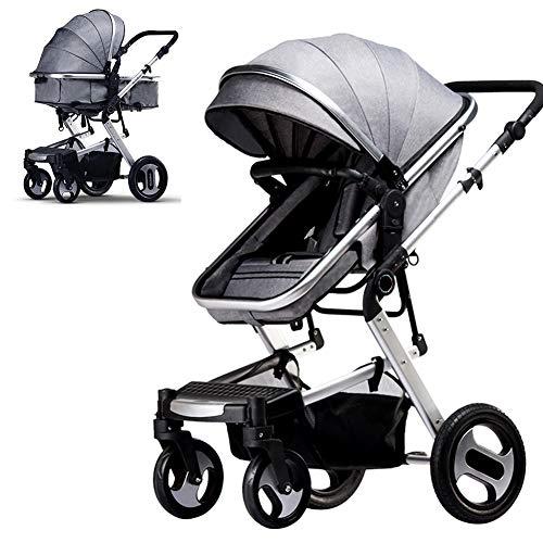 AP.DISHU Duitsland Baby kinderwagen, Vouwen Lichtgewicht wandelwagen met Aluminium Frame, Kan Zitten En Liemultifunctionele Kinderwagen