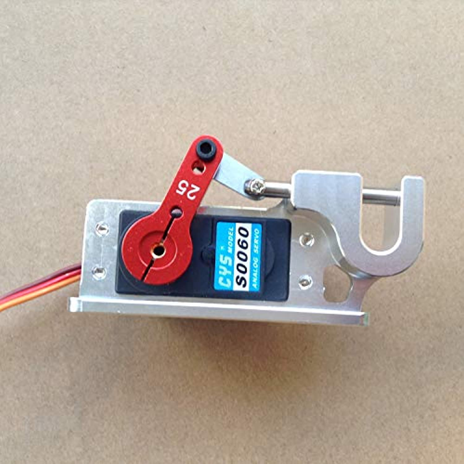 RC Boat Servo Dispenser Parabolic Switch Device Precision Large Torque Throw Device for Bait Boat w wo Servo Steering Arm   Without servo