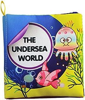 Baby Soft Cotton Fiber Cloth Books Early Learning Educational English Readings Toys Kakiyi