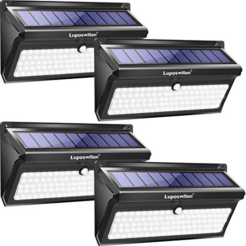 Luposwiten Solar Lights Outdoor, 100 LED...