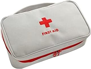 Elenxs Portable bag First Responder Storage Bag First Aid Empty Kit Bag Travel Sport