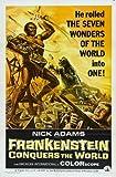 Frankenstein Conquers the World Poster Movie 11x17 Tadao Takashima Nick Adams Kumi Mizuno