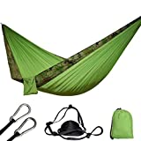 NM Muebles de jardín Columpio Hamaca para Acampar Camuflaje Hamaca paracaídas Carpa Exterior agagdfr5