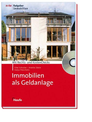 Immobilien als Geldanlage, m. CD-ROM
