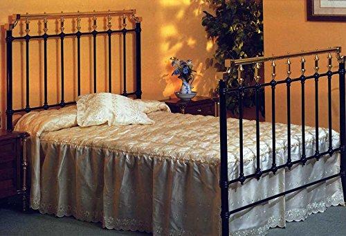 BRONCES DECOEXPORT Camas y Cabeceros de Laton y Forja : Modelo HUELVA de 150x190cms.