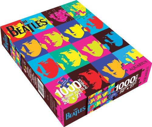 NMR - Puzzle The Beatles Pop Art, 1000 Piezas (09904)
