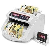 Conta banconote con rilevatore di soldi falsi Contabanconote euro professionale 2108 UV/MG
