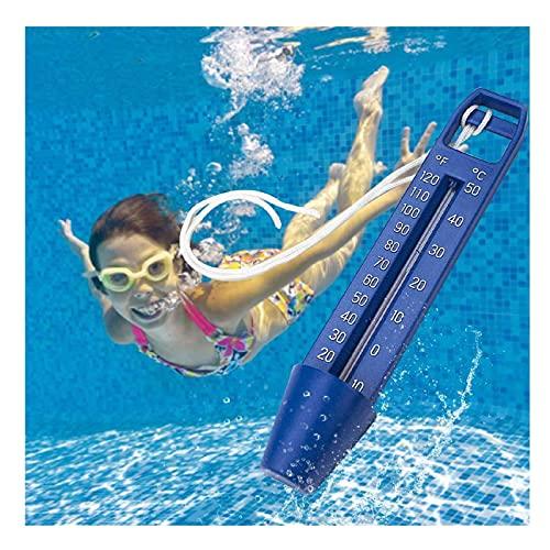 Pool Thermometer,Wasserthermometer,Leicht zu lesen,Senkenthermometer,Teichwasser-Thermometer Baby Pool Schwimmender Pool Thermometer,Pool-spa-thermometer, Schwimmtemperatur Teste (1 Stücke)