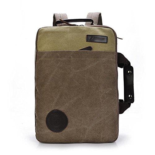 SZH&BEIB Unisexe Sac à dos en toile Casual Mode vitesse Voyage extérieur école ou sac pour ordinateur portable de travail , B