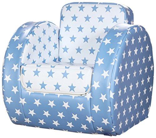 Kit for Kids Chaise pour Tout-Petit Blue Star Imprimé