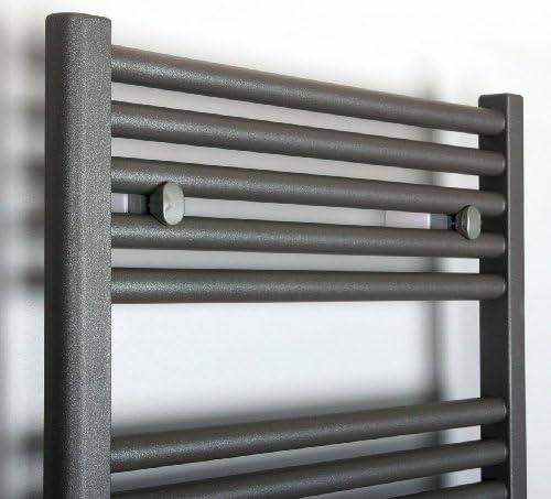 Seitenanschluss Badheizk/örper Design Berlin 1 Marke: Szagato HxB: 69x50 cm Made in Germany//Bad und Wohnraum-Heizk/örper Edelstahloptik 387 Watt
