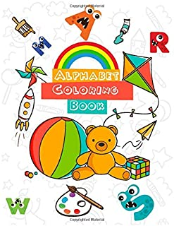 Alphabet Coloring Book: Learn with fun