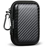 Hard Earbud Case, RISETECH Earphone Carrying Case Cover Portable Organizing Protection Storage Holder EVA Headphone Small Pouch for EarPods, Airpods, Powerbeats 3, Beats Flex, Bose Wireless Earbuds