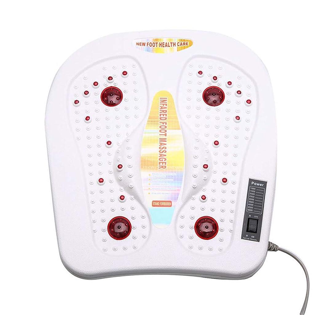 雇う離れた音楽フットマッサージャー電気温水振動フットマッサージ振動マシン