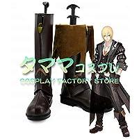 アイゼン テイルズ オブ ベルセリア TOB ベルセリア Tales of Berseria Eizen コスプレ 靴 ブーツ コスプレ靴 cosplay オーダーサイズ/スタイル 製作可能 【タママ】(23cm)