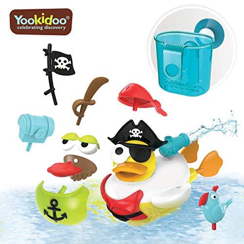 Yookidoo Jet Duck Crea un Pirata - Juguete de Baño,