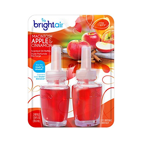 Bright Air Air Fresheners Plug in Macintosh Apple and, 2 -  900255