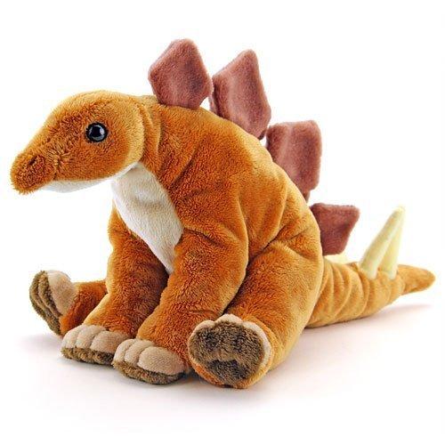 カロラータ ステゴサウルス ぬいぐるみ 恐竜 (おすわりシリーズ) 17cm×17cm×19cm