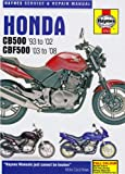 Honda CB500 and CBF500 Twins Service and Repair Manual: 1991 to 2008