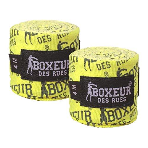 Boxeur des rues BX-GH04Y - Vendas para boxeo, Amarillo, U