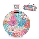Mr.XZY Palmera Manta grande de picnic tropical colorida con base impermeable para acampar al aire libre picnic 2010101