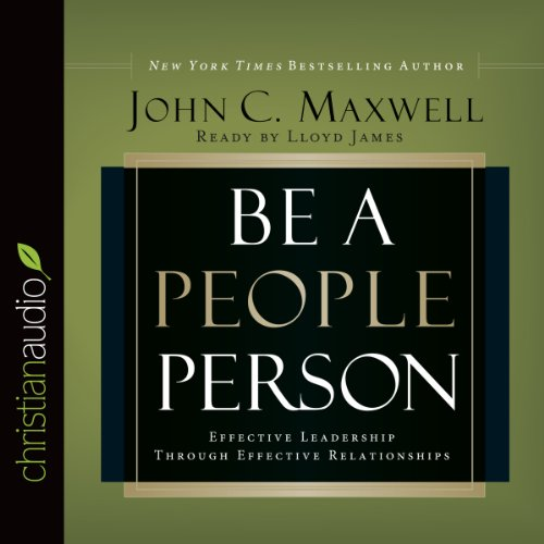 Be a People Person audiobook cover art