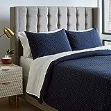 Amazon Brand – Rivet Modern Duvet Comforter Cover with Geometric Pattern,...