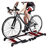 DAGCOT Bike Trainer Stand Bike Rollers Foldable Bike - Cycling Training Roller - Foldable Bike Trainer Bicycle Turbo Trainer - Indoor Bike Trainer Stand - Portable Bicycle Training Bracket for Fitness
