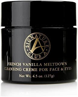 Signature Club A French Vanilla Meltdown Cleansing Creme for Face and Eye 4.5 Oz.